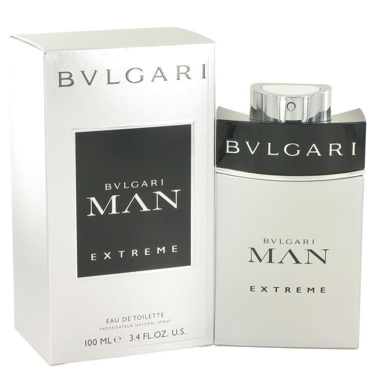 Bvlgari Man Extreme by Bvlgari Eau De Toilette Spray 3.4 oz Men