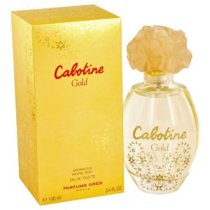 Cabotine Gold by Parfums Gres Eau De Toilette Spray 3.4 oz Women