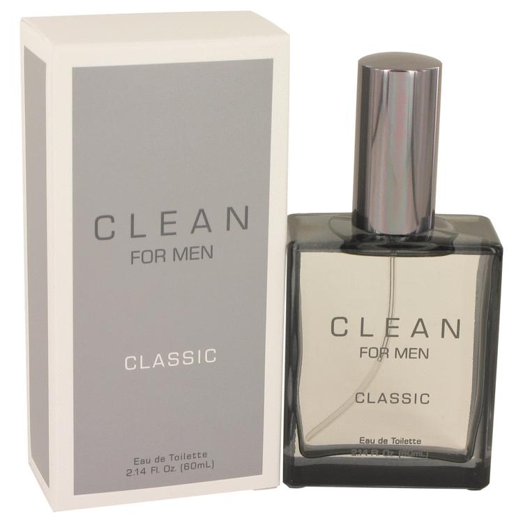 Clean Men by Clean Eau De Toilette Spray 2.14 oz Men
