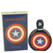 Captain America by Marvel Eau De Toilette Spray 3.4 oz Men