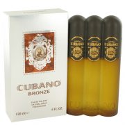 Cubano Bronze by Cubano Eau De Toilette Spray 4 oz Men