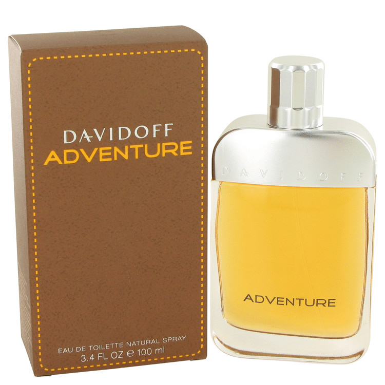 Davidoff Adventure by Davidoff Eau De Toilette Spray 3.4 oz Men