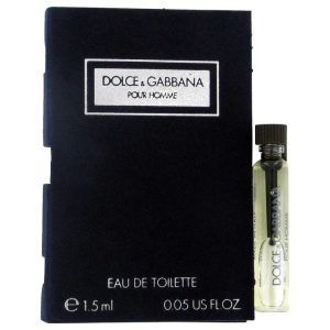DOLCE & GABBANA by Dolce & Gabbana Vial (sample) .06 oz Men