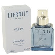Eternity Aqua by Calvin Klein Eau De Toilette Spray 1.7 oz Men