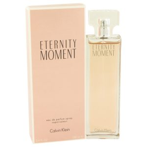 Eternity Moment by Calvin Klein Eau De Parfum Spray 3.4 oz Women