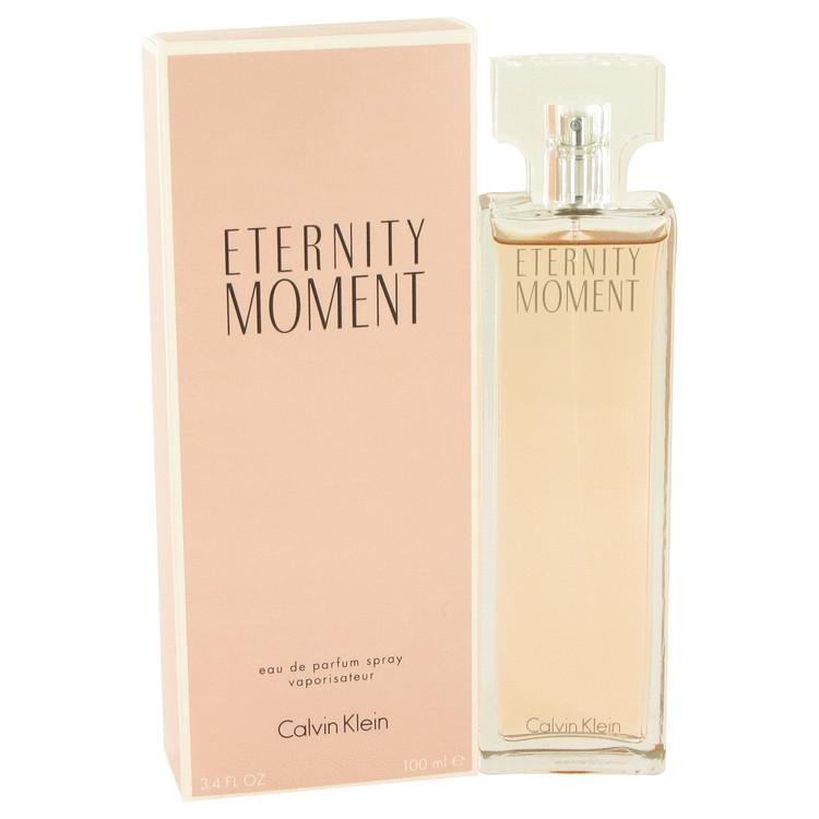 Eternity Moment by Calvin Klein Eau De Parfum Spray 3.4 oz Women