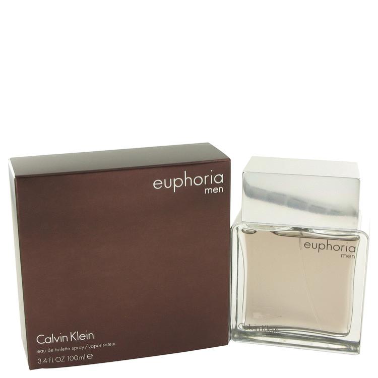 Euphoria by Calvin Klein Eau De Toilette Spray 3.4 oz Men