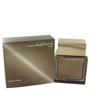 Euphoria Intense by Calvin Klein Eau De Toilette Spray 3.4 oz Men