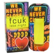 FCUK Late Night by French Connection Eau De Toilette Spray 3.4 oz Women