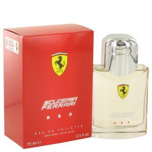 Ferrari Scuderia Red by Ferrari Eau De Toilette Spray 2.5 oz Men