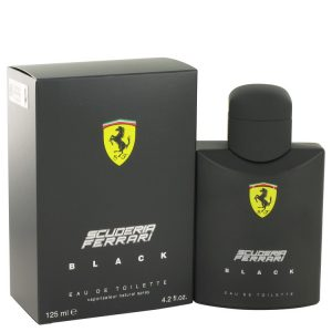 Ferrari Scuderia Black by Ferrari Eau De Toilette Spray 4.2 oz Men