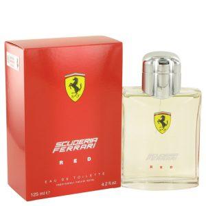 Ferrari Scuderia Red by Ferrari Eau De Toilette Spray 4.2 oz Men