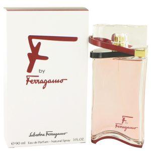 F by Salvatore Ferragamo Eau De Parfum Spray 3 oz Women
