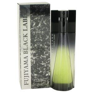 Fujiyama Black Label by Succes De Paris Eau De Toilette Spray 3.4 oz Men