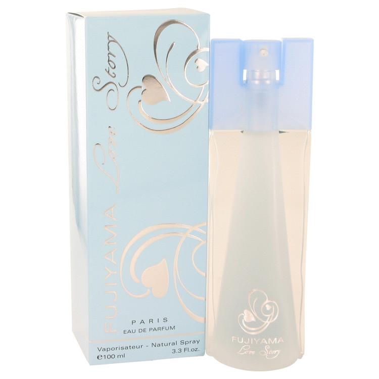 Fujiyama Love Story by Succes De Paris Eau De Parfum Spray 3.3 oz Women