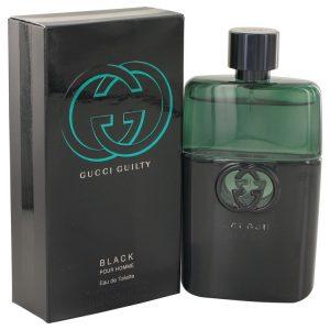 Gucci Guilty Black by Gucci Eau De Toilette Spray 3 oz Men