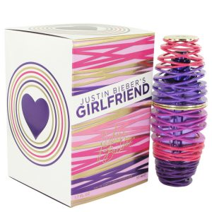 Girlfriend by Justin Bieber Eau De Parfum Spray 1.7 oz Women
