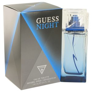 Guess Night by Guess Eau De Toilette Spray 3.4 oz Men