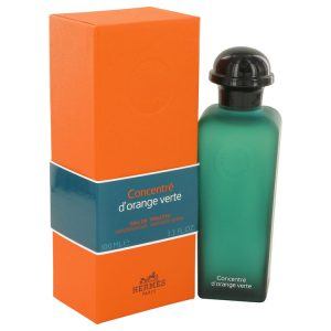 EAU D'ORANGE VERTE by Hermes Eau De Toilette Spray Concentre (Unisex) 3.4 oz Women