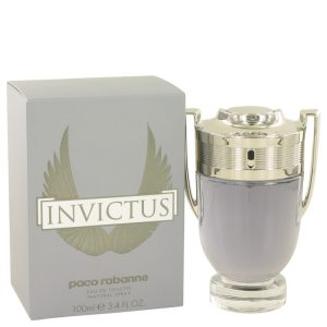 Invictus by Paco Rabanne Eau De Toilette Spray 3.4 oz Men
