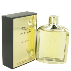 Jaguar Classic Gold by Jaguar Eau De Toilette Spray 3.4 oz Men