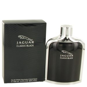 Jaguar Classic Black by Jaguar Eau De Toilette Spray 3.4 oz Men