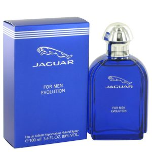Jaguar Evolution by Jaguar Eau De Toilette Spray 3.4 oz Men