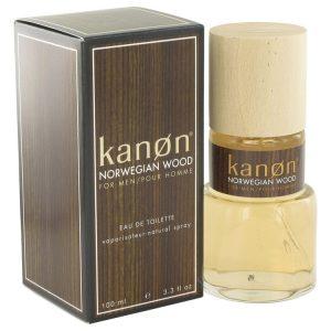Kanon Norwegian Wood by Kanon Eau De Toilette Spray 3.3 oz Men