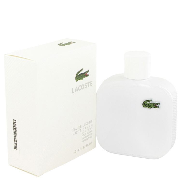 Lacoste Eau De Lacoste L.12.12 Blanc by Lacoste Eau De Toilette Spray 3.3 oz Men