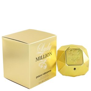 Lady Million by Paco Rabanne Eau De Parfum Spray 2.7 oz Women