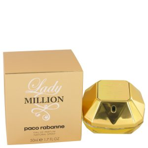 Lady Million by Paco Rabanne Eau De Parfum Spray 1.7 oz Women