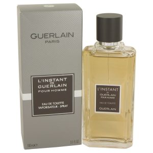 L'instant by Guerlain Eau De Toilette Spray 3.4 oz Men