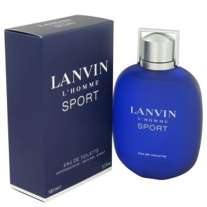 Lanvin L'homme Sport by Lanvin Eau De Toilette Spray 3.3 oz Men