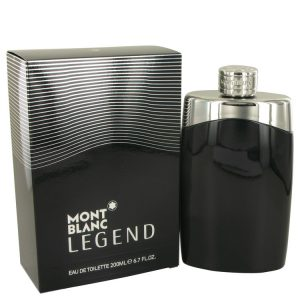 MontBlanc Legend by Mont Blanc Eau De Toilette Spray 6.7 oz Men
