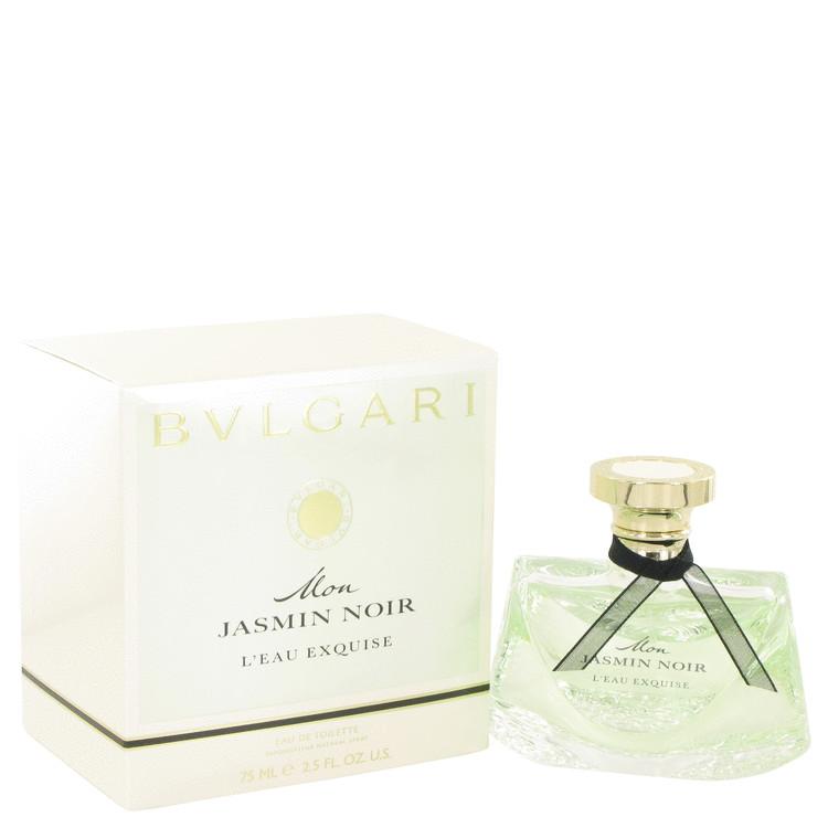 Mon Jasmin Noir L'eau Exquise by Bvlgari Eau De Toilette Spray 2.5 oz Women