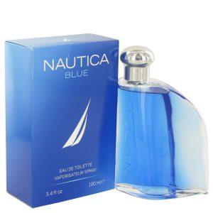 NAUTICA BLUE by Nautica Eau De Toilette Spray 3.4 oz Men