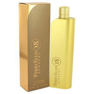 Perry Ellis 18 Sensual by Perry Ellis Eau De Parfum Spray 3.4 oz Women