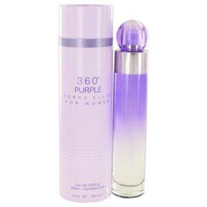 Perry Ellis 360 Purple by Perry Ellis Eau De Parfum Spray 3.4 oz Women