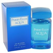 Perry Ellis Aqua by Perry Ellis Eau De Toilette Spray 3.4 oz Men
