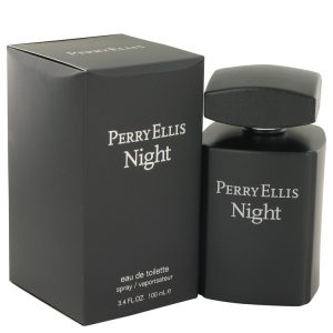 Perry Ellis Night by Perry Ellis Eau De Toilette Spray 3.4 oz Men