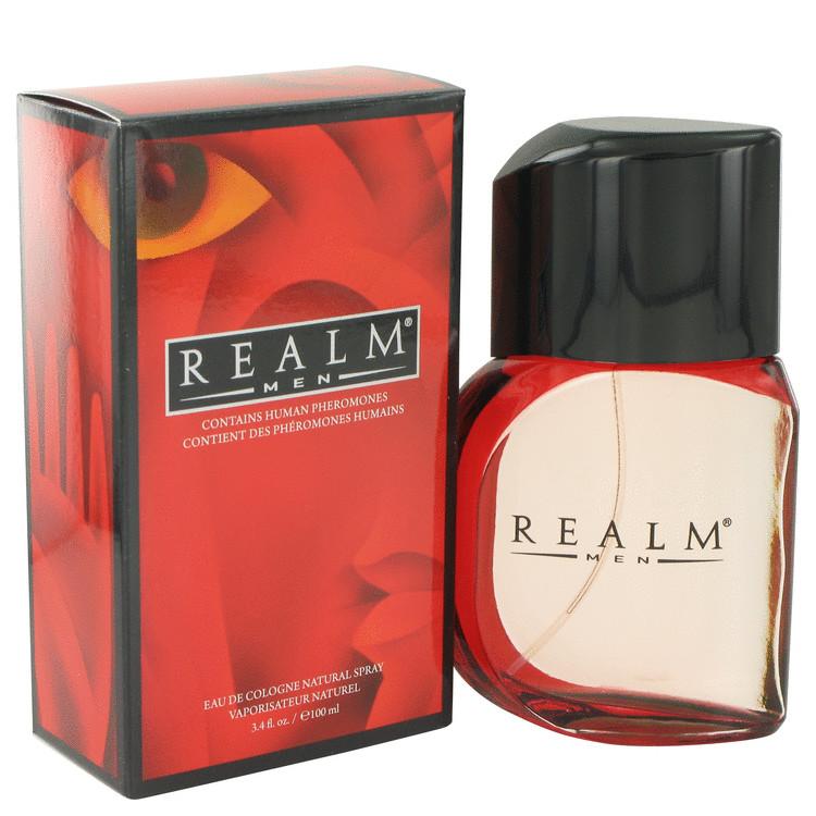 REALM by Erox Eau De Toilette Spray 3.4 oz Men