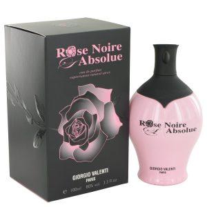 Rose Noire Absolue by Giorgio Valenti Eau De Parfum Spray 3.4 oz Women