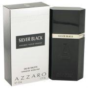 Silver Black by Azzaro Eau De Toilette Spray 1.7 oz Men