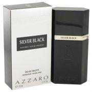 Silver Black by Azzaro Eau De Toilette Spray 1.7 oz Men