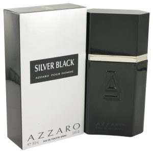 Silver Black by Azzaro Eau De Toilette Spray 3.4 oz Men