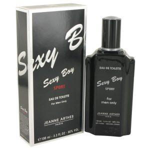 Sexy Boy Sport by Jeanne Arthes Eau De Toilette Spray 3.4 oz Men