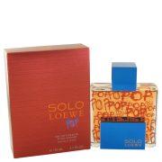 Solo Loewe Pop by Loewe Eau De Toilette Spray 4.3 oz Men