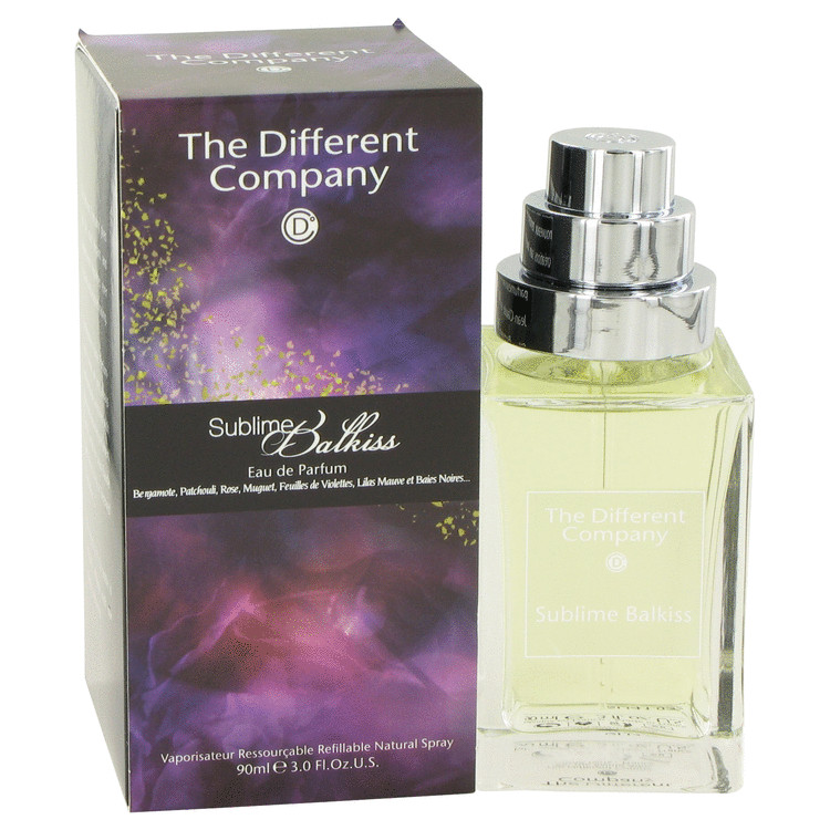 Sublime Balkiss by The Different Company Eau De Toilette Spray Refillable 3 oz Women
