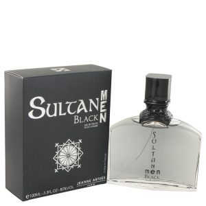 Sultan Black by Jeanne Arthes Eau De Toilette Spray 3.3 oz Men