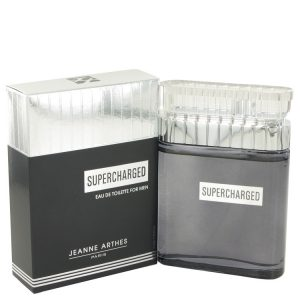 Supercharged by Jeanne Arthes Eau De Toilette Spray 3.3 oz Men